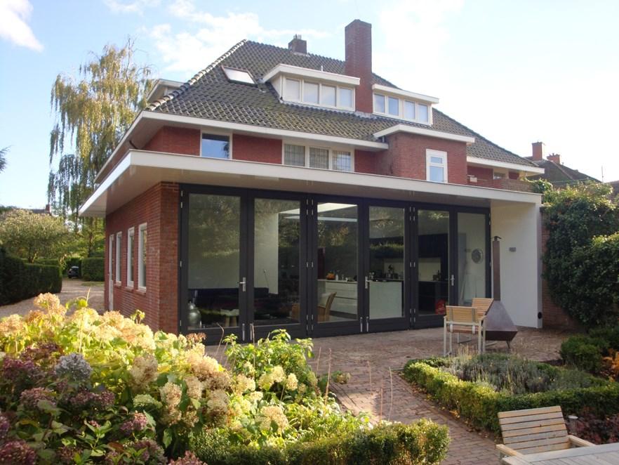 Uitbreiding woning haren projecten kvdk architectuur - Stenen huis uitbreiding ...