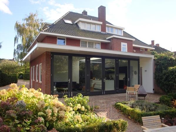 Uitbreiding woning haren projecten kvdk architectuur - Uitbreiding huis glas ...